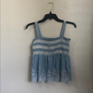 Girls blue blouse from justice size 12. Price: $17